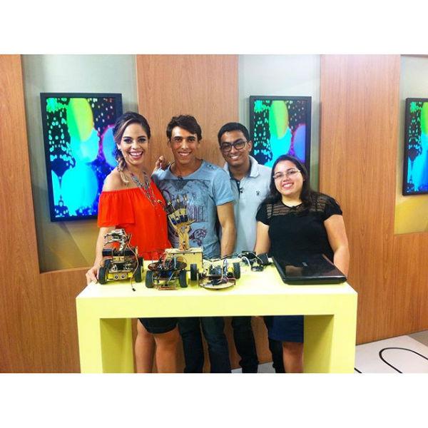 Jovens inventores do Labiras participam do Supertop