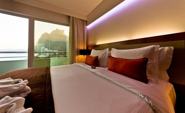 Loreto e Débora Nascimento têm núpcias em hotel de R$1.775 a diária (Crédito: Reprodução)