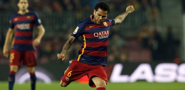 Daniel Alves (Crédito: Reuters)
