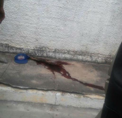 Local onde a vítima foi encontrada (Crédito: Reprodução)