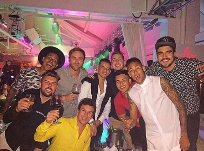 Férias de Neymar  (Crédito: Reprodução)