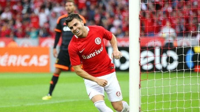 Andrigo marcou o seu primeiro gol no Brasileirão contra o Sport (Crédito: Gazeta Press)