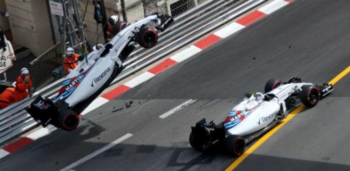 Batida de Massa em Mônaco (Crédito: AFP)