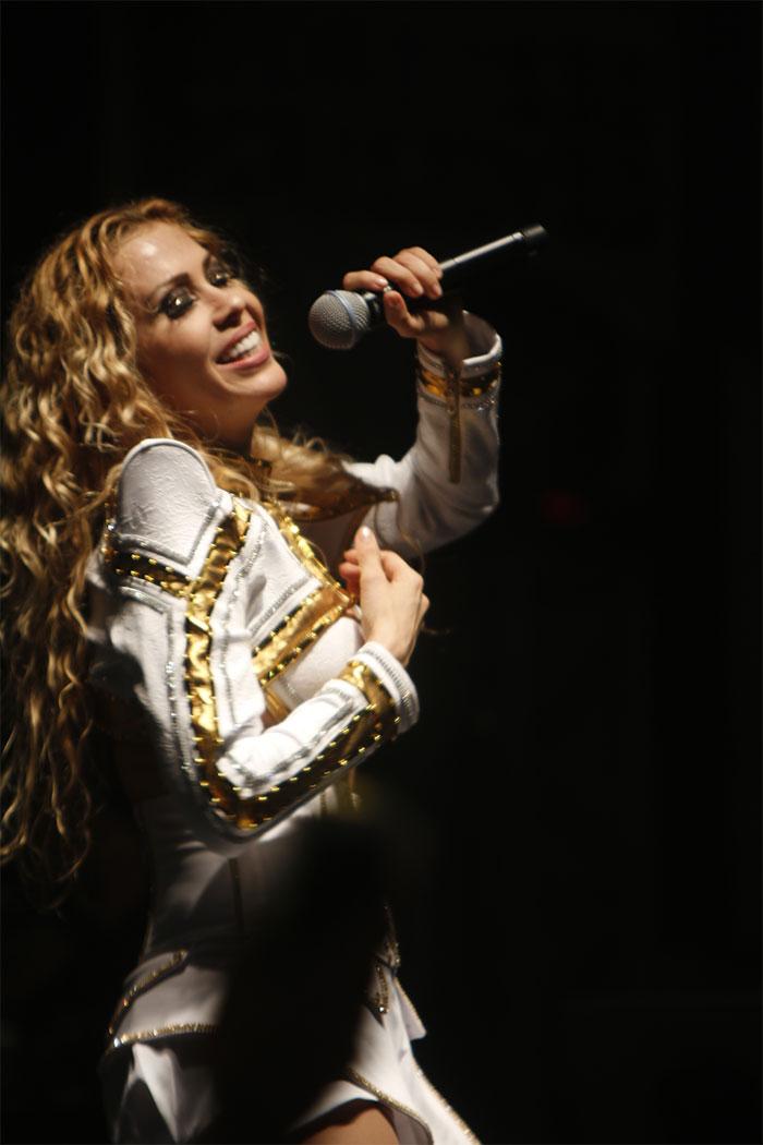 Joelma fez show no Rio de Janeiro