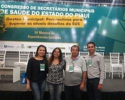 São Félix esteve no VI Congresso dos Secretários Municipais do PI