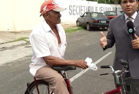 Idoso tem bicicleta furtada no centro de Teresina