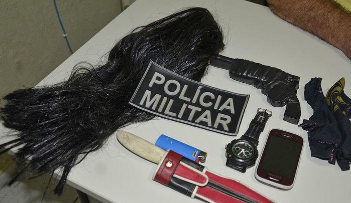 """""""Chupetão"""" foi conduzido para a delegacia da cidade, e liberado logo em seguida pela polícia, por não ter cometido nenhum crime. (Crédito: Reprodução / PM)"""