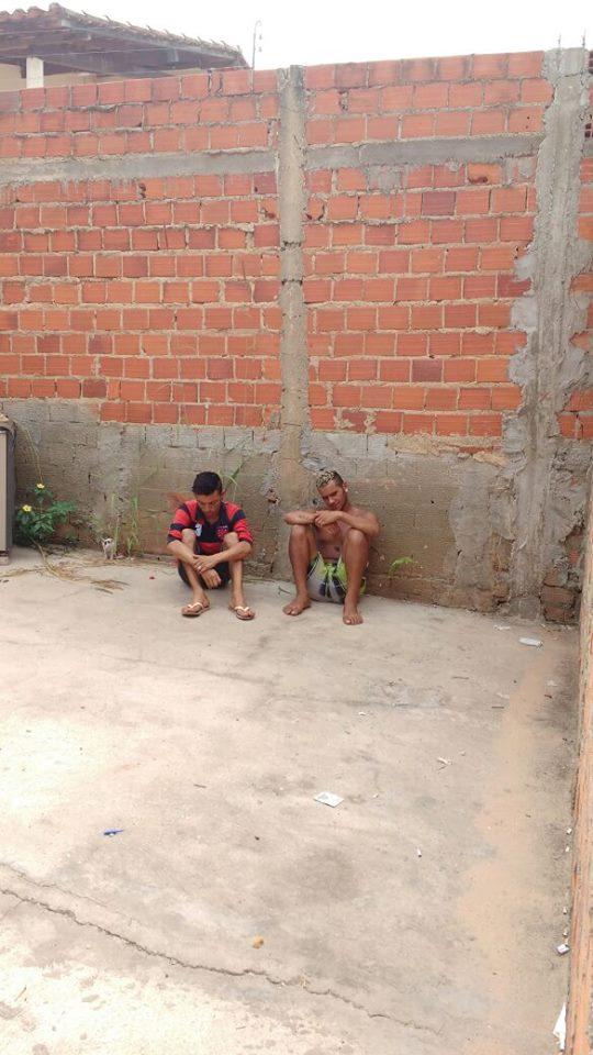 Dupla é presa acusada de arrombar residência em Teresina (Crédito: Reprodução)