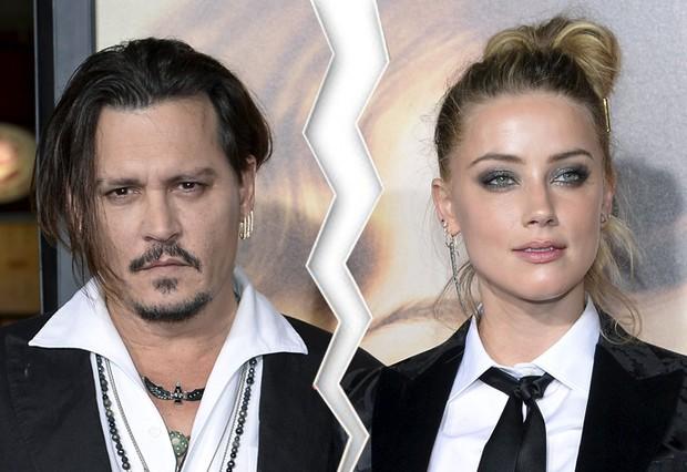 Johnny Depp e Amber Heard  (Crédito: Reprodução)