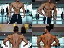 Felipe Franco mostra músculos saltados e cintura finíssima em foto