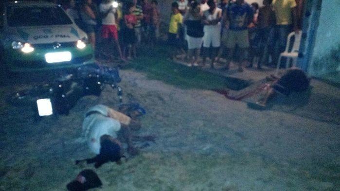 Crime ocorrido na Vila Bandeirantes (Crédito: Reprodução)