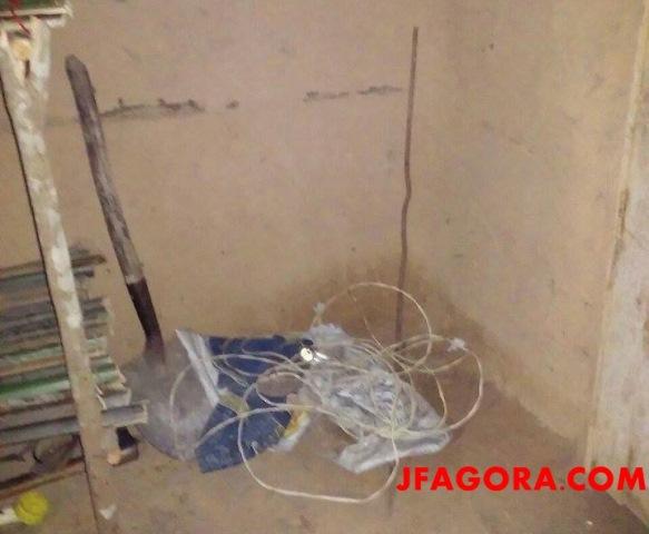 Vítima de descarga elétrica (Crédito: Reprodução)