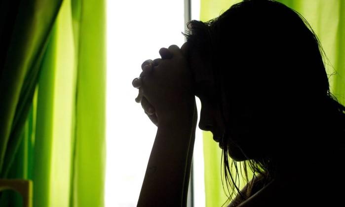 Jovem vítima de estupro (Crédito: Reprodução)