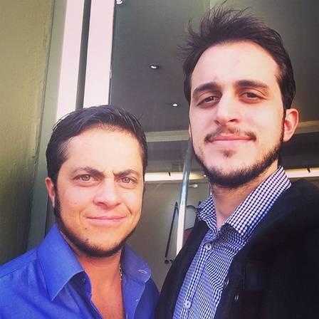 Thammy e Sérgio (Crédito: Reprodução)