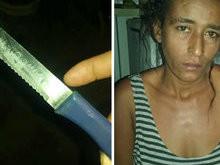 Mulher mata marido com faca de mesa após briga durante 'bebedeira'