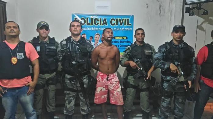 Neilton Alves da Silva foi preso dentro da própria casa em Bom Jesus (Crédito: Diuvulgação/ Polícia Militar)