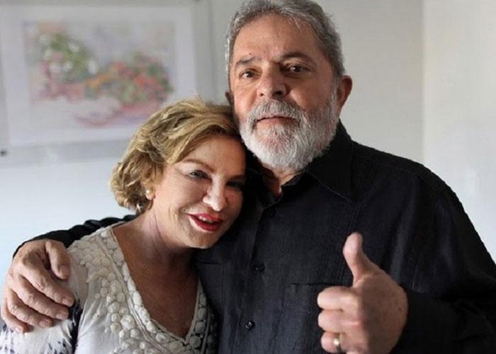 Lula e Marisa  (Crédito: Divulgação)