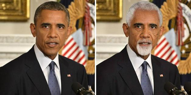 Obama  (Crédito: Luiz Carlos Estati)