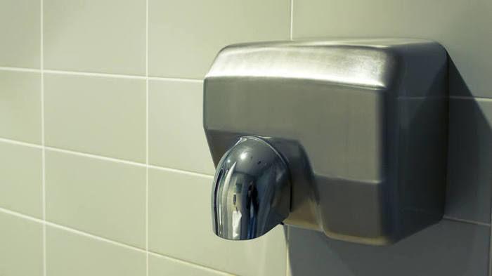 Secadores de mãos (Crédito: Reprodução )