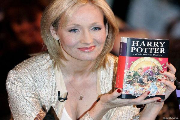 J. K. Rowling (Crédito: Reprodução)