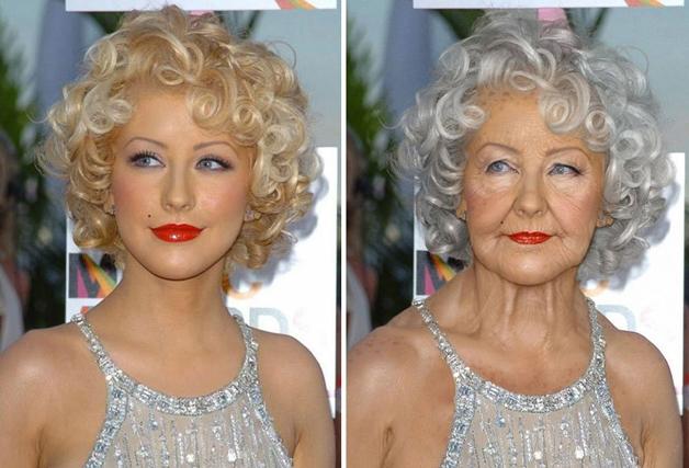 Christina Aguilera  (Crédito: Grumplebits)