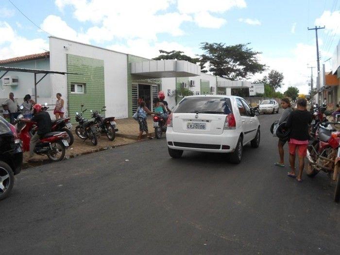 Jovem morreu ao dar enrtada no Hospital de Esperantina (Crédito: diariodolonga)