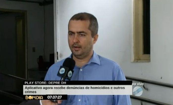 Delegado Alessandro Barreto (Crédito: Reprodução/TV Meio Norte)