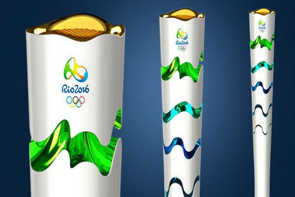 Tocha Olímpica (Crédito: Reprodução)