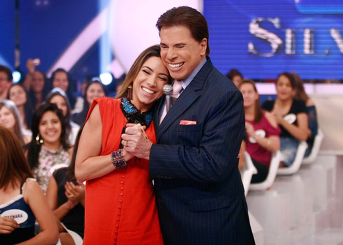 Patrícia Abravanel e Sílvio Santos (Crédito: Divulgação)