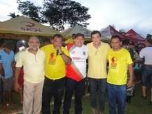 Gustavo Medeiros prestigia a final da Copa União em Buriti Alegre