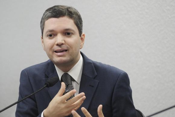 Ministro da Transparência, Fiscalização e Controle, Fabiano Silveira (Crédito: Reprodução)