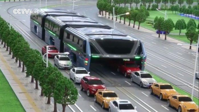 Ônibus do futuro (Crédito: Reprodução)