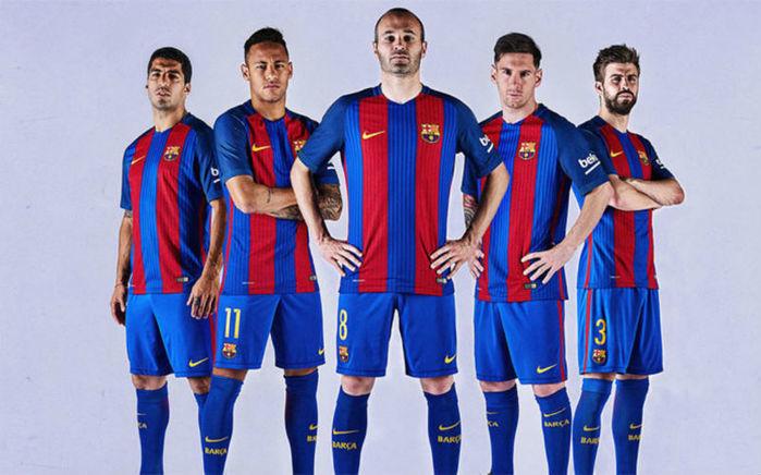 Novo uniforme do Barça (Crédito: Reprodução)