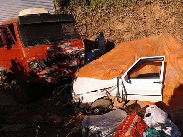 Acidente matou sete pessoas da mesma família (Crédito: Divulgação)