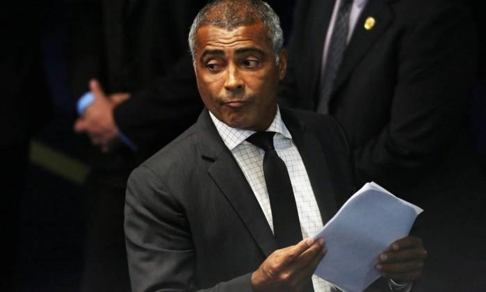 Senador Romário (Crédito: Reprodução)