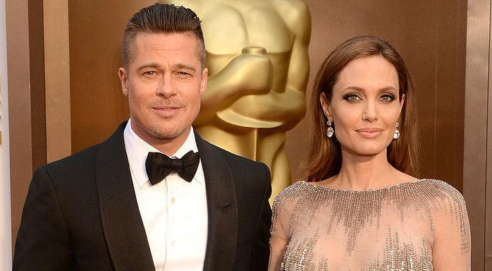 Brad Pitt e Angelina Jolie (Crédito: Divulgação)