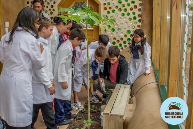 Escola pública 100% sustentável (Crédito: Reprodução)