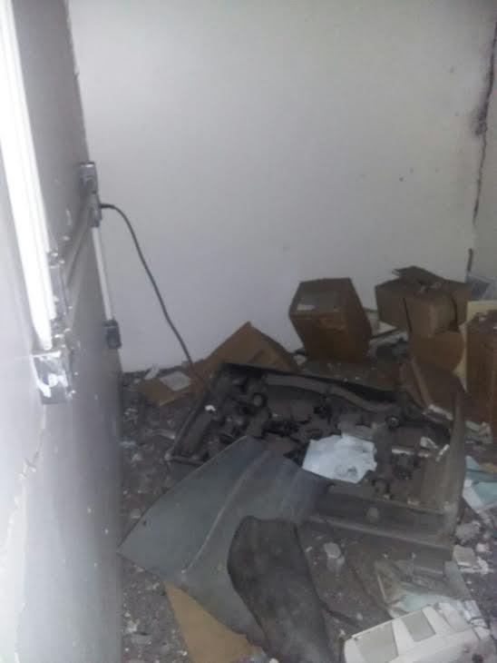 Bandidos assaltam Banco do Brasil de Castelo do Piauí