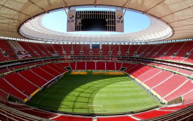 Estádio Mané Garrincha (Crédito: Reprodução)