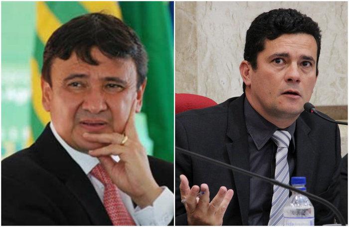 Wellington Dias e Sérgio Moro (Crédito: Reprodução)