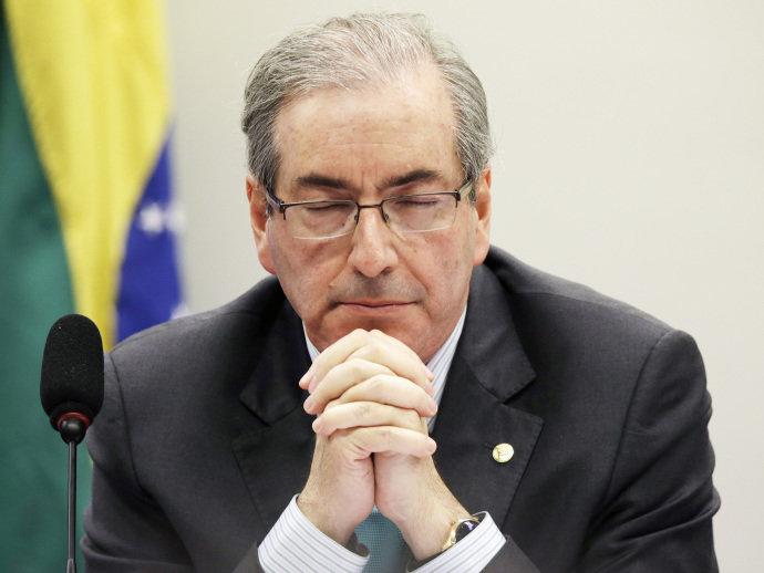 Eduardo Cunha é afastado  (Crédito: Divulgação)