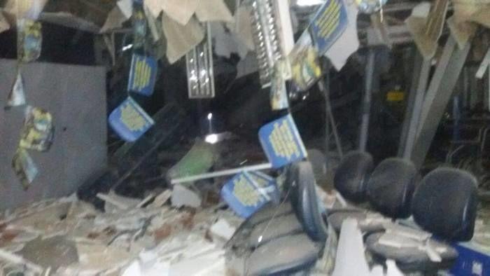 Explosão do Banco do Brasil de Curimatá (Crédito: Reprodução)