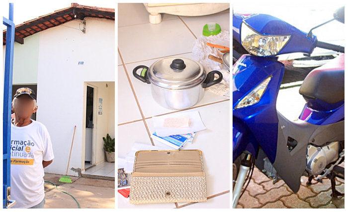 Homem teve a casa invadida e vários objetos levados