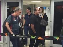 Após derrota, Flamengo desembarca no Rio com segurança reforçada