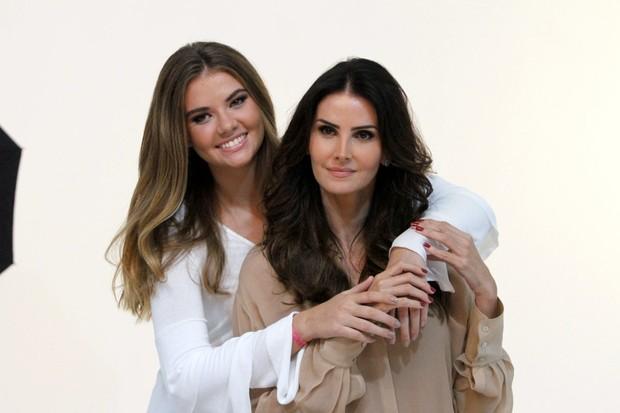 Lisandra Souto e Yasmin (Crédito: Reprodução)