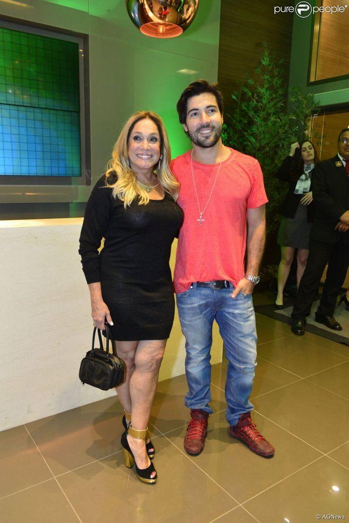 Susana Vieira e Sandro Pedroso (Crédito: Reprodução)