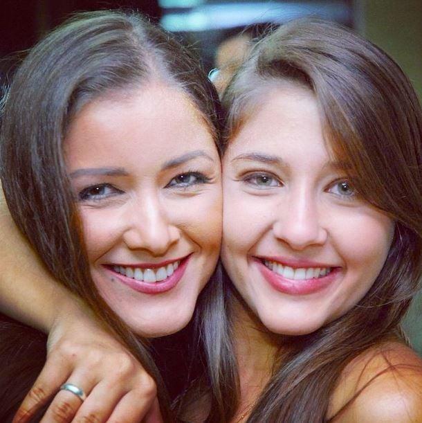Nana Gouvêa e Angel (Crédito: Reprodução)