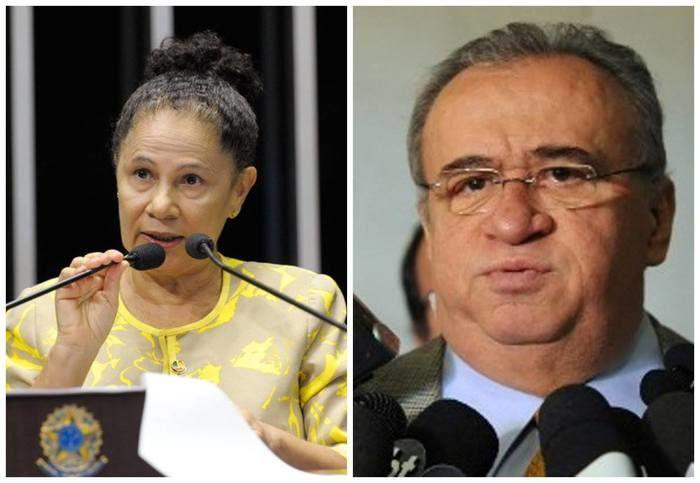 Senadora Regina Sousa e Heráclito Fortes