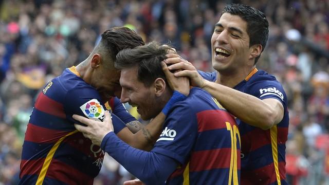 """Trio """"MSN"""" (Crédito: AFP)"""