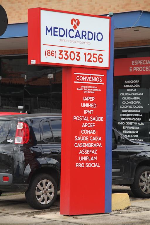 Medicardio está localizada na Rua Olavo Bilac, nº 1660, Centro/Sul